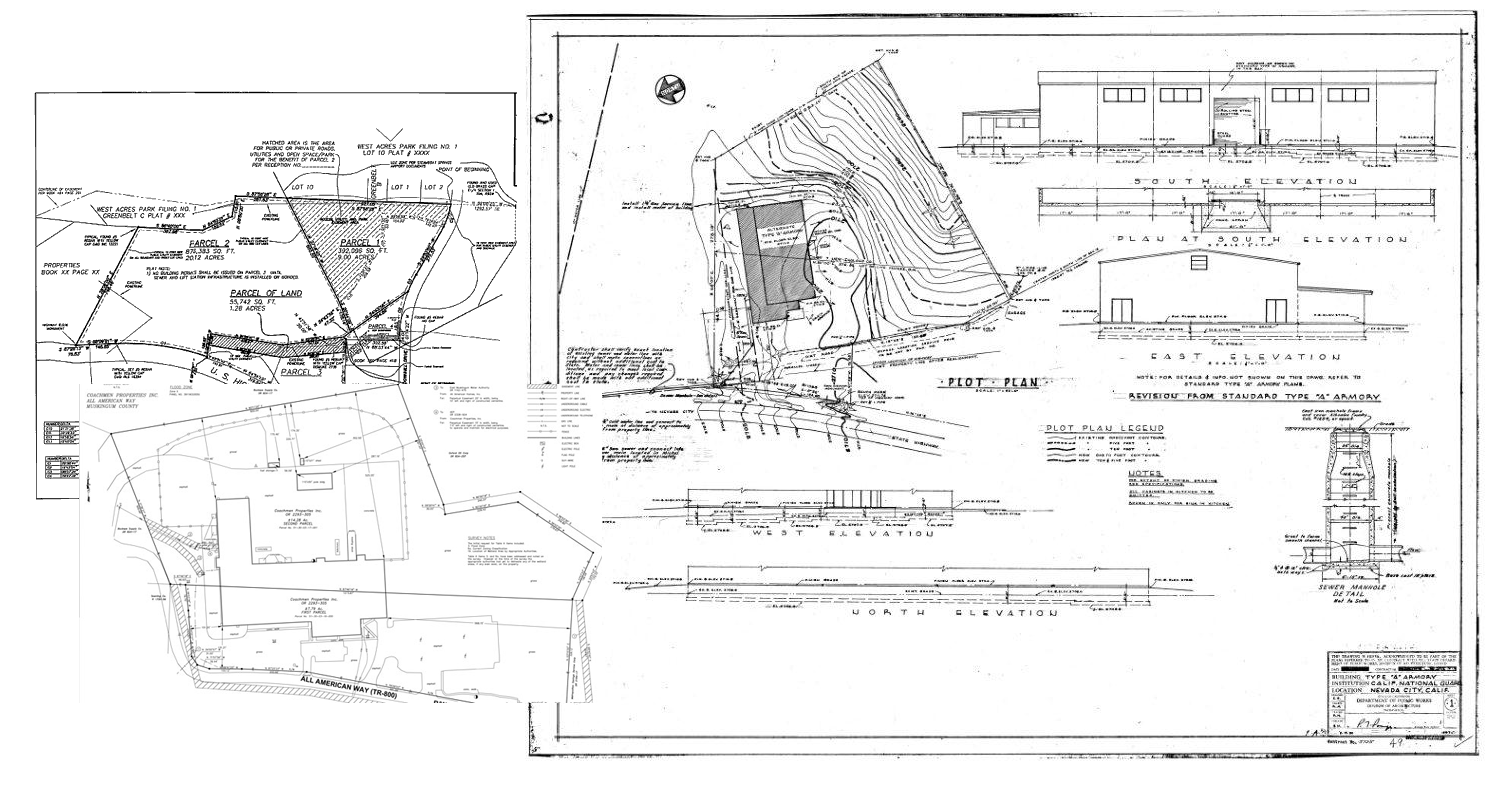 Scanning Of Large Format Drawings And Linking To Gis Systems