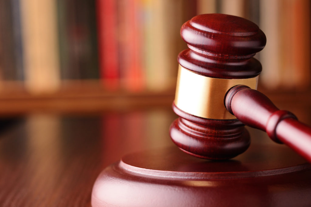 Close-up of a vintage gavel, on blurred background, symbol of impartiality and rightness, judicial decisions, closed cases and justice